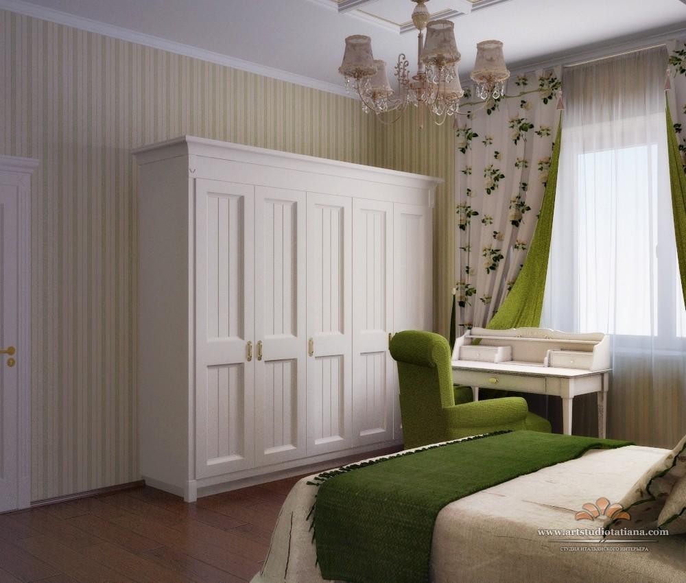 Дизайн-проект спальни Алексея Никольского